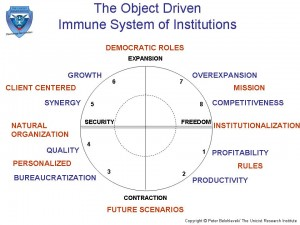 The Object Driven Immune System of Institutions