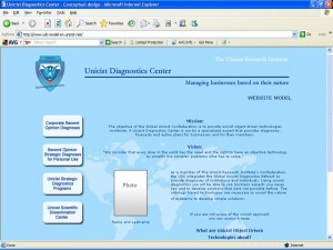 Unicist Diagnostics Center - WEBSITE MODEL