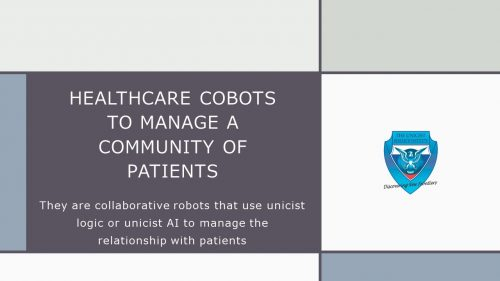 Healthcare Cobots to Manage Relationships with Patients