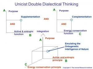 Unicist Double Dialectical Thinking
