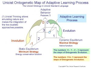 Adaptive learning process