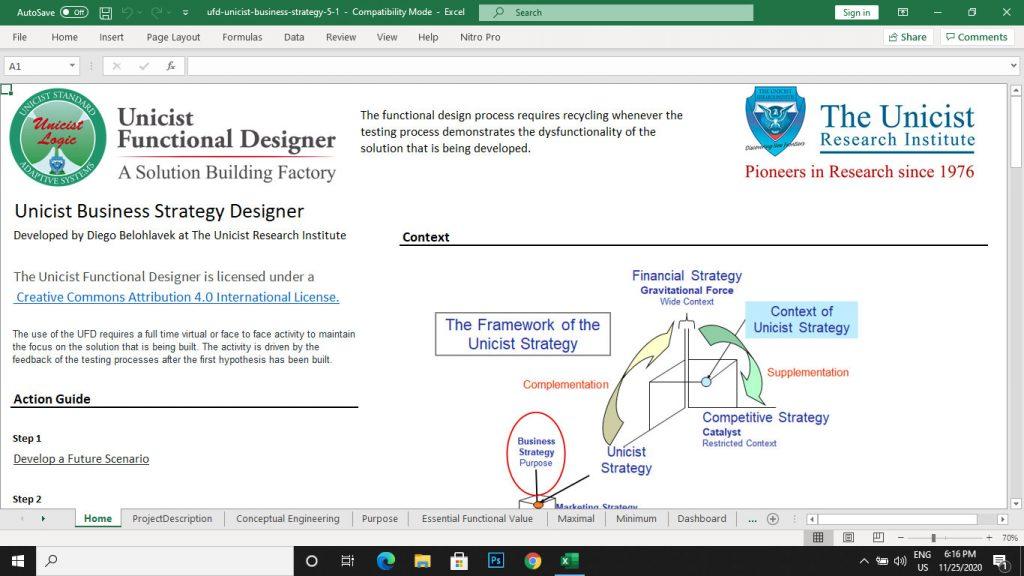 Business Strategy Designer